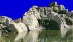 假山石头0136,假山石头,假山与喷水池,