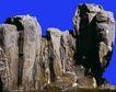 假山石头0139,假山石头,假山与喷水池,