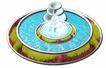 喷水池0014,喷水池,假山与喷水池,