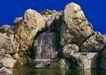 喷水池0017,喷水池,假山与喷水池,