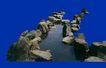 喷水池0022,喷水池,假山与喷水池,