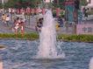 喷水池0035,喷水池,假山与喷水池,