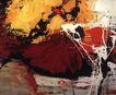 抽象画0042,抽象画,墙饰画,
