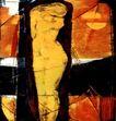 抽象画0044,抽象画,墙饰画,