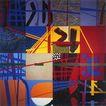抽象画0047,抽象画,墙饰画,