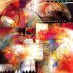 抽象画0054,抽象画,墙饰画,