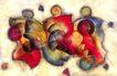 抽象画0068,抽象画,墙饰画,