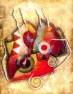 抽象画0069,抽象画,墙饰画,