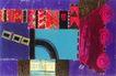 抽象画0081,抽象画,墙饰画,