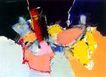 抽象画0097,抽象画,墙饰画,