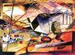 抽象画0121,抽象画,墙饰画,