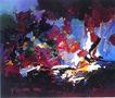 抽象画0124,抽象画,墙饰画,