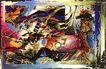 抽象画0129,抽象画,墙饰画,
