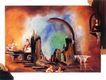 梦幻画0034,梦幻画,墙饰画,