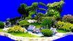 多棵及树群0015,多棵及树群,植物,