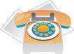 通讯0007,通讯,科技,固定电话机