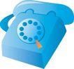 通讯0014,通讯,科技,古典款式 电话机矢量图