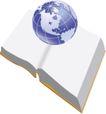 通讯0027,通讯,科技,书本 地球仪