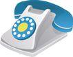 通讯0045,通讯,科技,蓝色话筒