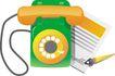 通讯0048,通讯,科技,橘色话筒