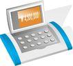 通讯0060,通讯,科技,数字 传真机