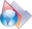 通讯0075,通讯,科技,蓝色地球