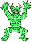 怪兽0700,怪兽,动物,