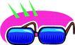 眼镜0056,眼镜,服饰潮流,蓝色眼镜