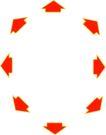 其他箭头0103,其他箭头,标识图形,