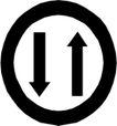 交通标识0916,交通标识,标识图形,
