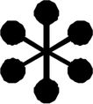 星状0553,星状,标识图形,