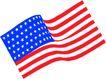 世界国旗0059,世界国旗,名胜地理,五角星 条纹