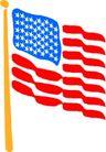 世界国旗0071,世界国旗,名胜地理,美国国旗 星条旗