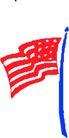世界国旗0080,世界国旗,名胜地理,蓝色旗杆