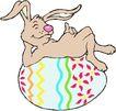 春天0051,春天,季节,小兔子 彩蛋