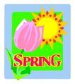 春天0069,春天,季节,郁金香 鲜花