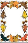 秋天0021,秋天,季节,叶片 植物边框