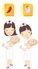 医务人员0032,医务人员,健康医疗,婴儿 护士 白衣天使