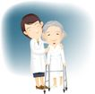 医务人员0047,医务人员,健康医疗,老年患者