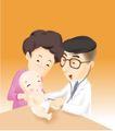 医务人员0057,医务人员,健康医疗,儿童医院 木桌