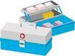 医务人员0064,医务人员,健康医疗,药箱 药盒