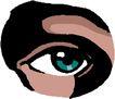 眼睛0030,眼睛,健康医疗,蓝眼睛