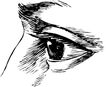 眼睛0052,眼睛,健康医疗,素描