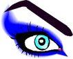 眼睛0053,眼睛,健康医疗,蓝眼睛