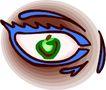 眼睛0061,眼睛,健康医疗,眼影