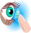 眼睛0062,眼睛,健康医疗,隐形眼镜
