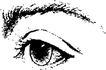 眼睛0067,眼睛,健康医疗,黑白图