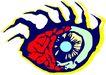 眼睛0069,眼睛,健康医疗,矢量图