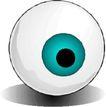 眼睛0075,眼睛,健康医疗,圆圆眼球