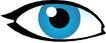 眼睛0076,眼睛,健康医疗,蓝色瞳孔
